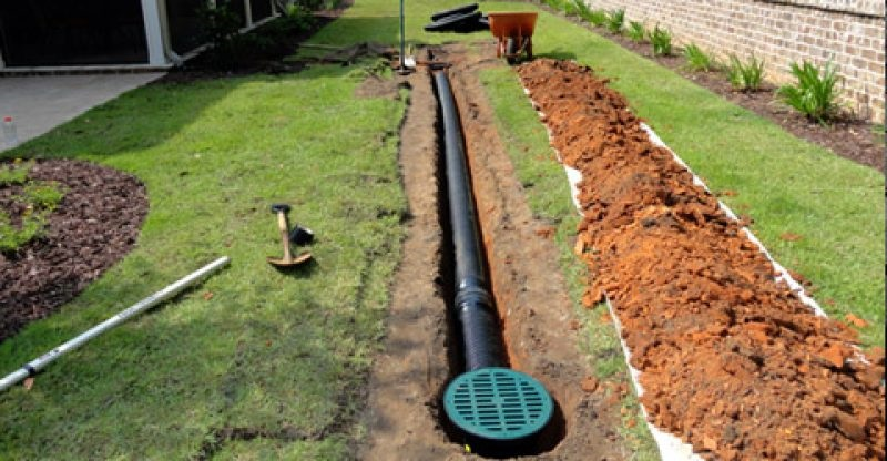 eco drainage yard drainage and water management consultants